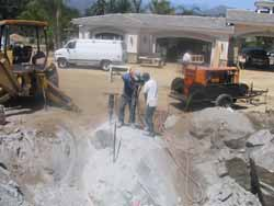 Accurate Underground and Grading, Inc : Services: Custom Building Sites